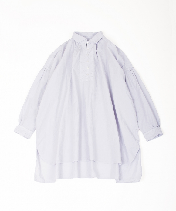 3f3911d4 Cotton gathered long shirt with high thread count|nest Robe ...
